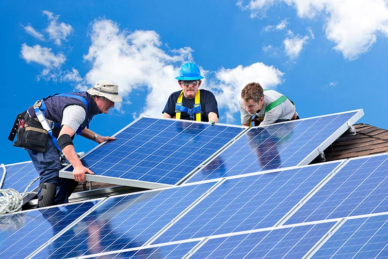 How much for a solar panel installation?